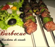 Barbecue – Brochettes de viande facile à faire