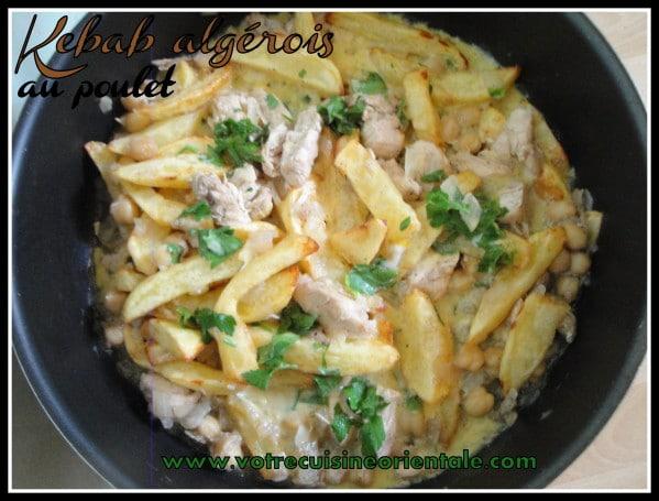 Kebab algérois au poulet