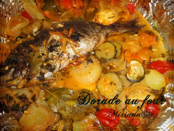 Dorade ou daurade au four - Cuisson daurade au four ...
