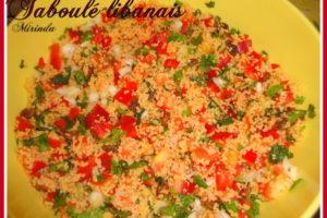 Taboulé libanais