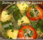 Légumes farcis à la viande hachée (dolma)
