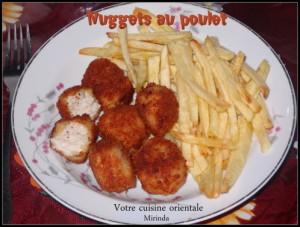 Nuggets au poulet