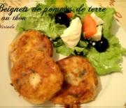 Maakouda ou beignets de pommes de terre et au thon