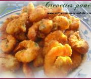 Crevettes panées façon oriental